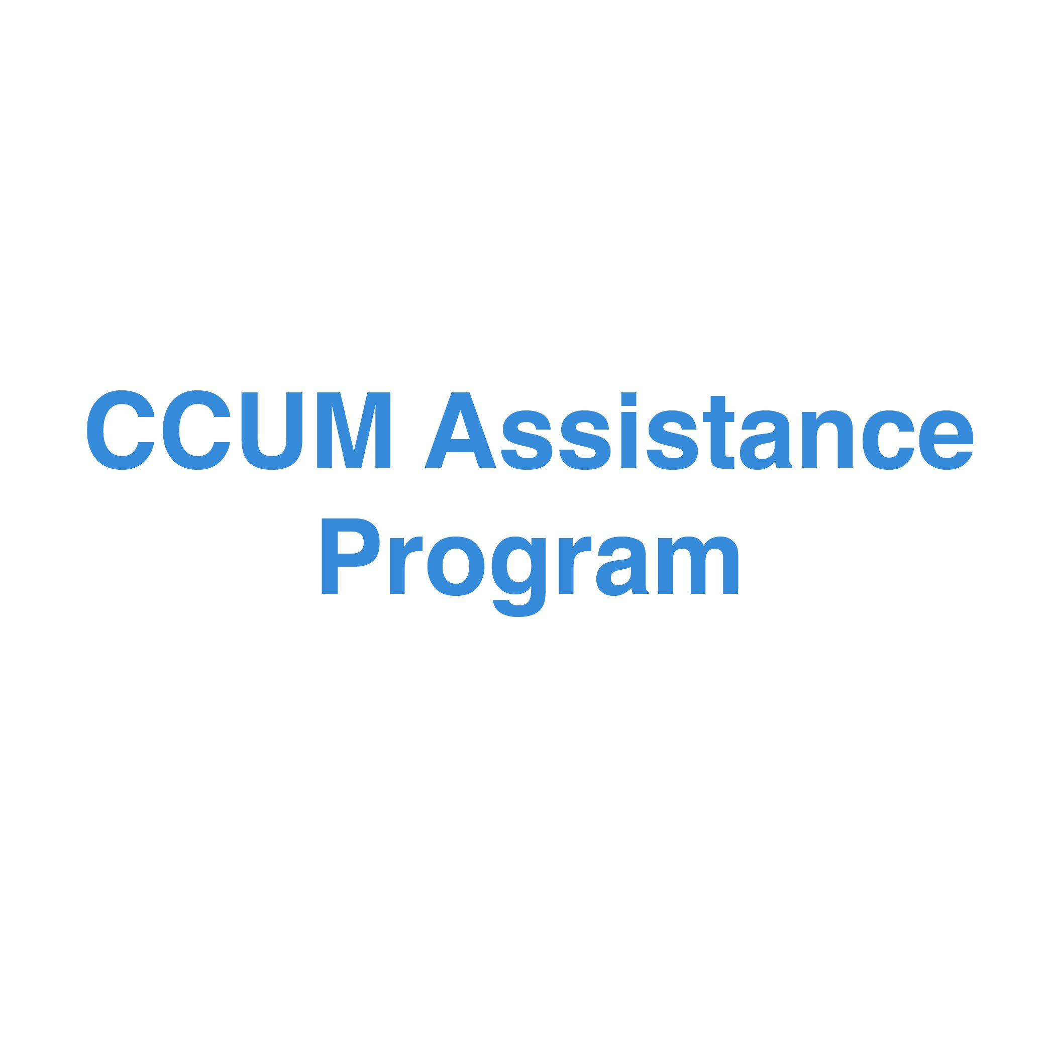 CCUM Assistance Program